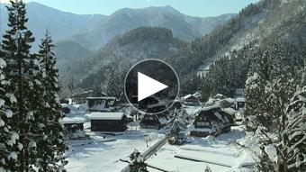 環境映像冬景色イメージ
