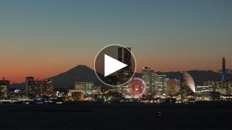 環境映像夜景イメージ