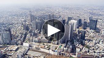環境映像東京空撮イメージ