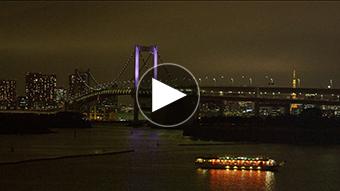 環境映像東京ナイトタイムイメージ